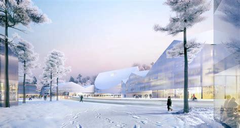 designboom russia herzog de meuron skolkovo university will revitalize region