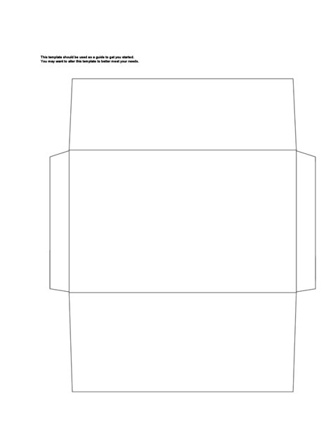 a9 envelope template a9 envelope exle free