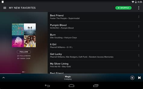 spotify mobile player spotify android apps on play