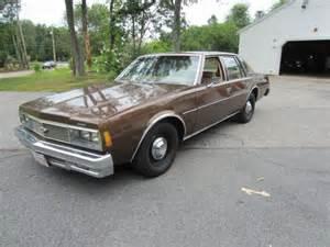 impala 1979 sedan front corner