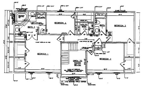2nd floor detailed floorplan