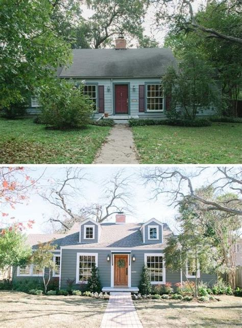 20 home exterior makeover before and after ideas home