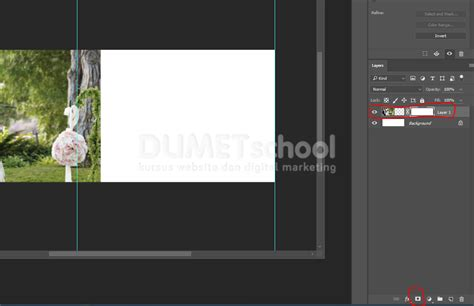 membuat garis batas di photoshop cara membuat kolase photo wedding di photoshop part1