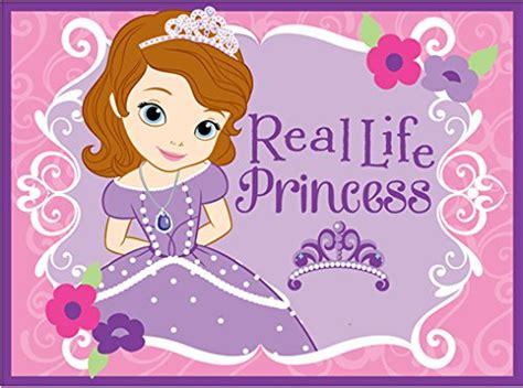 Disney Princess Tea Rug - sofia the decor tktb