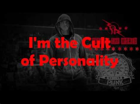 theme song quiz personality wwe cult of personality cm punk theme song lyrics