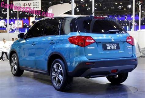 Suzuki Prices In Pakistan Suzuki Vitara Revealed At The 2015 Chengdu Auto