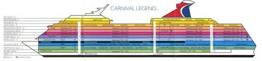 Carnival Splendor Floor Plan We A Plan Carnival Magic Deck Plans 7