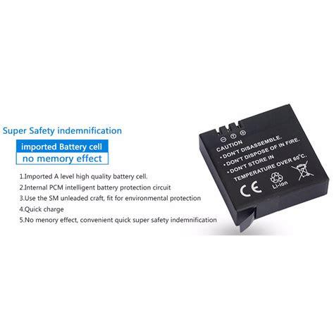 Yi Battery Replacement Xiaomi Yi Battery Xiaomi Yi Oem 2 kingma baterai xiaomi yi 2 4k 1400mah black