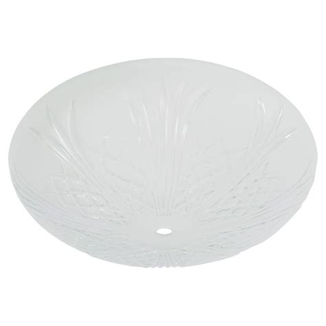 ceiling l cover replacement glass cover for bercello estates 52 in