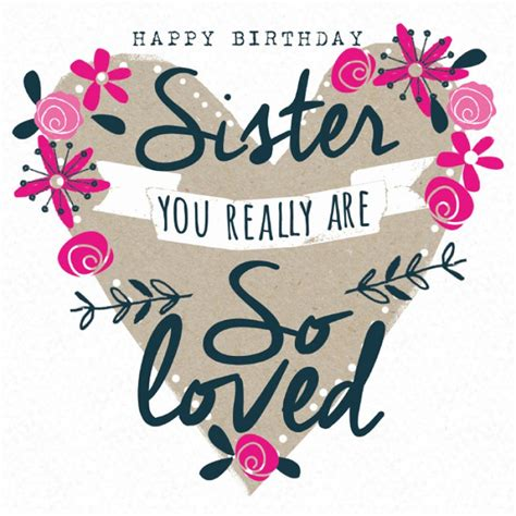 printable happy birthday cards for sister swa066 jpg 800 215 800 happy birthday sister pinterest