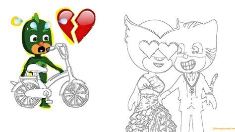catboy pj masks coloring pages pj masks catboy love owlette coloring page free coloring