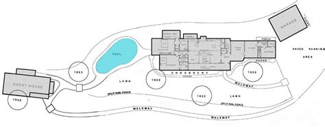 10050 cielo drive floor plan sharon tate house floor plan home design
