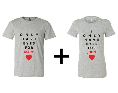 Valentines Day Shirts For Couples Custom I Only For S Shirt S