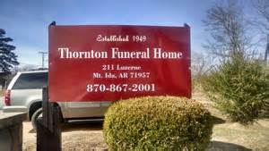 gallery thornton funeral home