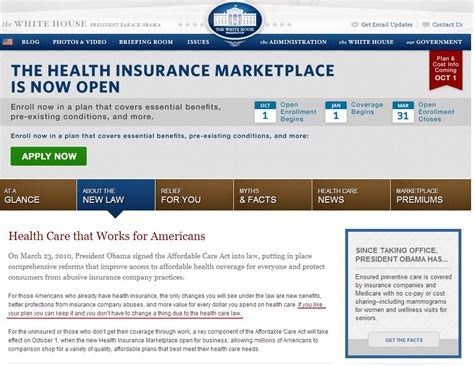 is the white house insured white house website still lying claims you can keep your health insurance video