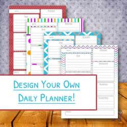 Create Your Own Personal Planner Custom Daily Planner Printable Day Organizer The