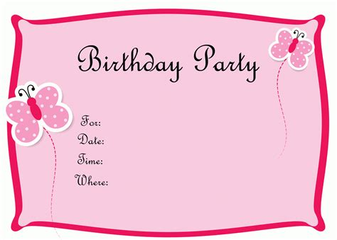 Create Free Birthday Cards Create Your Own Birthday Invitation Printable Free Birthday Invitations Plumegiant