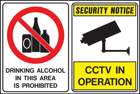 liquor signs alcohol prohibition signs drinking alcohol in this area