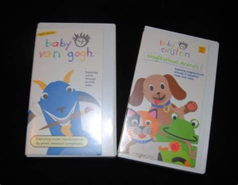 Galerry baby einstein vhs dvd lot baby beethoven language water discovery