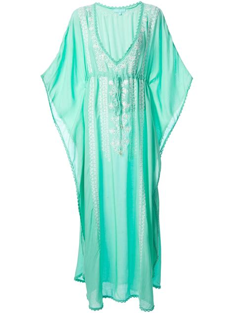 Drawstring Kaftan Mint lyst odabash marigay kaftan dress in green