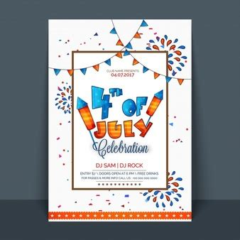 4th of july photo card template 4th of july fireworks photo free