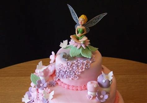 easy girls birthday cakes ideas  sweet pictures  tinkerbell creativefan cake ideas