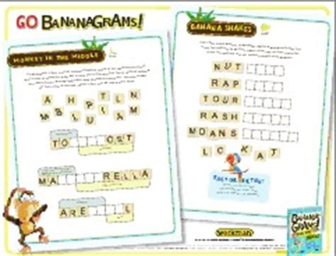 printable bananagrams instructions 10 minute bananagrams appleletters pairs in pears