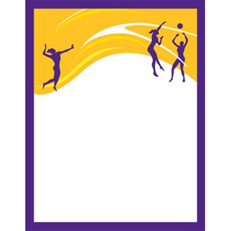 volleyball book design templates sports program printing