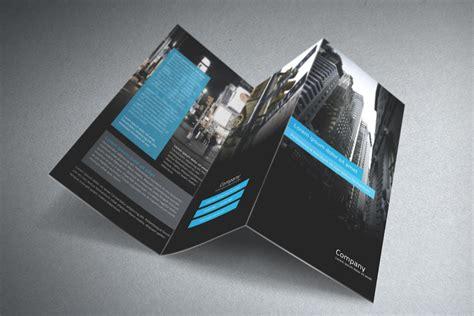 tri fold brochure templates psd free tri fold brochure template psd free graphics