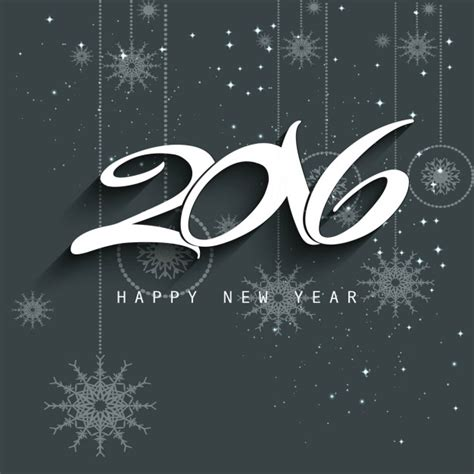 new year 2016 vector free new year 2016 background in gray color vector free