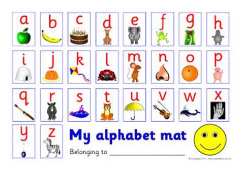 printable alphabet letters sparklebox alphabet picture mat sb517 sparklebox