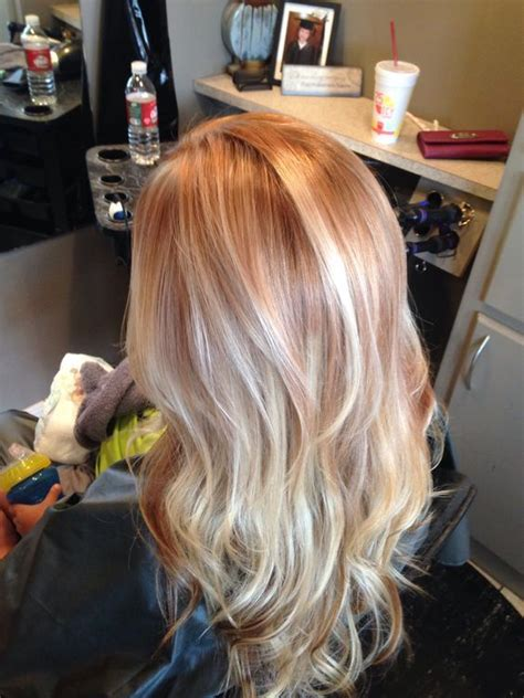 how to add colour chunks to hairstyles best 25 copper blonde hair color ideas on pinterest