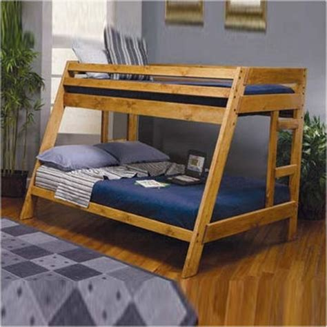 woodwork twin  full bunk bed diy  plans