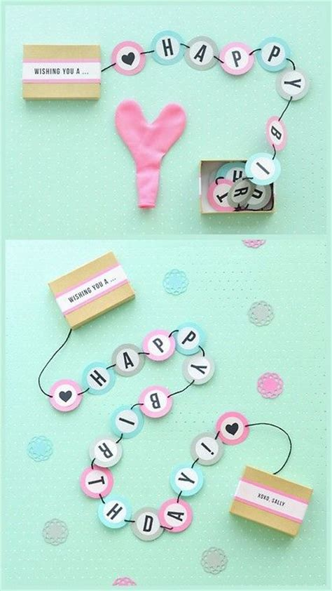 How To Make A Birthday Gift With Paper - best 25 diy birthday gift ideas on