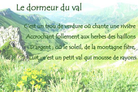 Rimbaud Le Dormeur Du Val Texte by Le Dormeur Du Val Un Chef D Oeuvre De Po 233 Sie L 233 Gu 233 Par