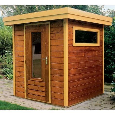 lugarde prima thomas flat roof garden shed