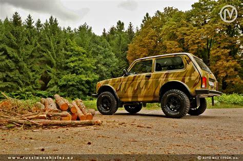 Putin Lada Niva Skladov 233 Vozy Made In Russia