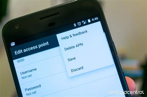 change apn settings android what is an apn and how do i change it android central