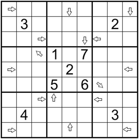 printable arrow sudoku sudoku mania 06 08 15