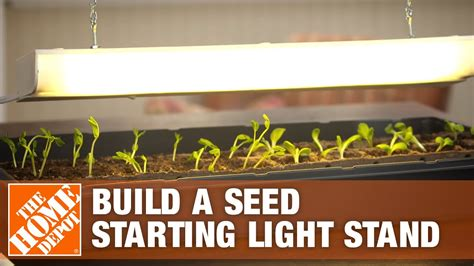 build  seed starting light stand  home depot