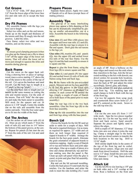 deacon bench woodworking plans deacons bench woodworking plans image mag