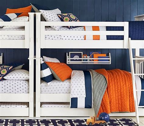 Bunk Bed Sets For Boys 17 Best Images About 4 1 Room On Pinterest Triplets 3 Boys And Pallet Bunk Beds