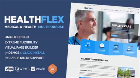theme wordpress free health healthflex medical health wordpress theme themeforest