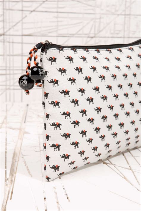 elephant tattoo urban outfitters elephant print cosmetic bag at urban outfitters cosmetic