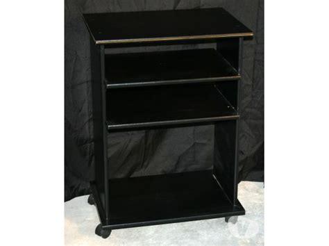 meuble chaine hifi noir clasf