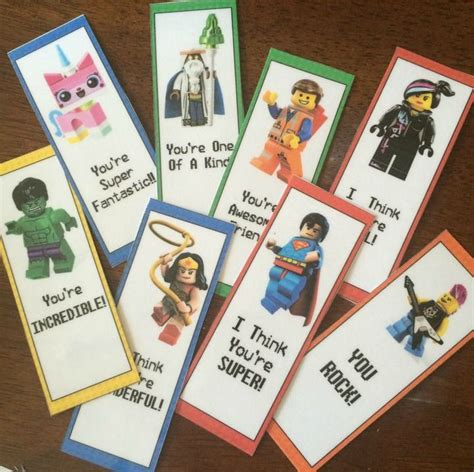 printable lego bookmarks 17 best images about valentine s day printables on