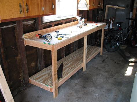 diy garage bench pdf diy garage work bench plans download furniture wood