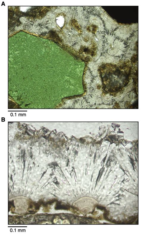 green minerals in thin section figure f22 a photomicrograph of typical diagenetic