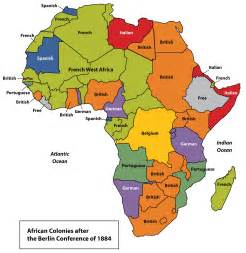5 regions of africa map subsaharan africa