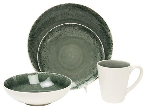 modern dinnerware sets fused gray 16 dinner set modern dinnerware sets